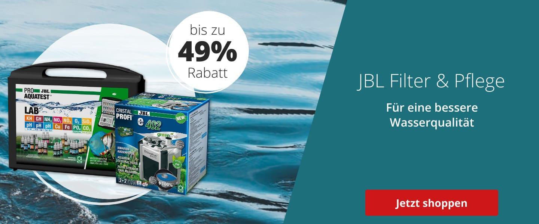 JBL Filter & Pflege