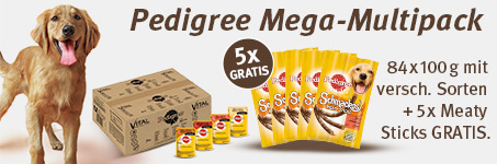 Pedigree Meaty Sticks gratis