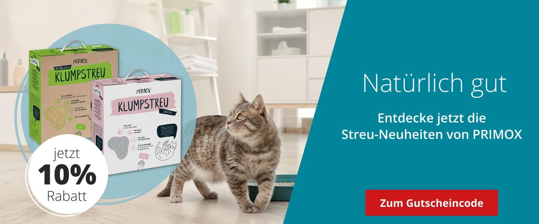 10% auf Primox Katzenstreu
