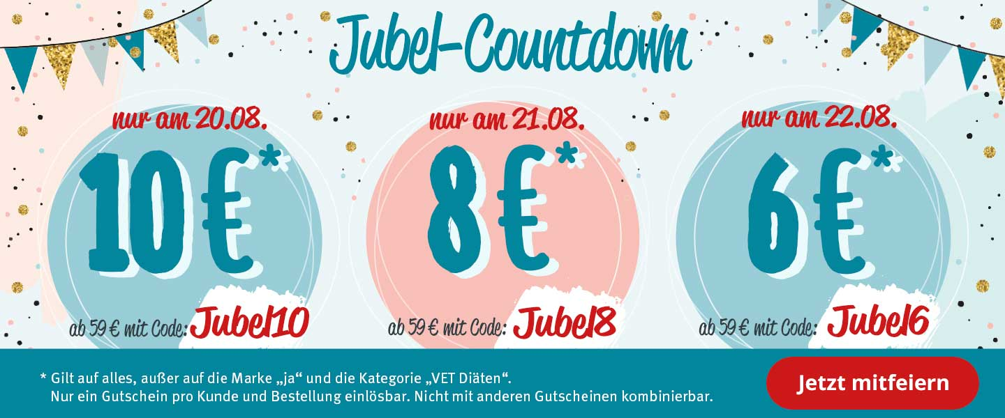 Jubel-Countdown