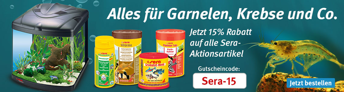 Garnelen, Krebse & Nano-Fisch-Aquaristik