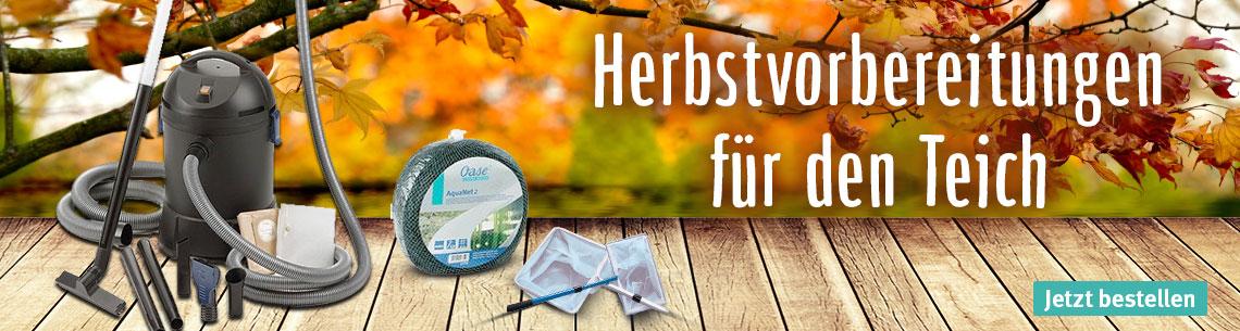 Herbstvorbereitung für Ihren Teich