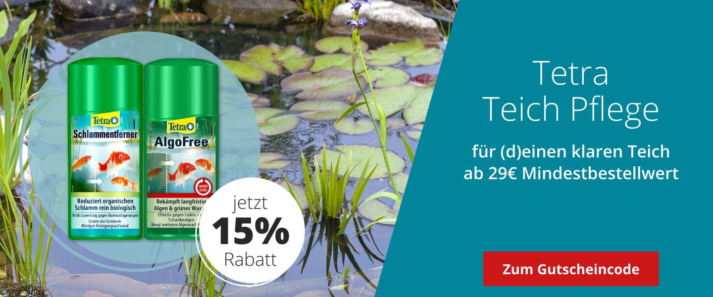 15% auf Teichpflege