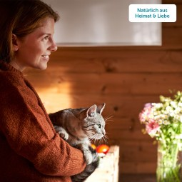 ZooRoyal Minkas Naturkost Mini Streifen Huhn & Kabeljau 50g
