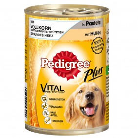 Pedigree Dose Plus Vollkorn mit Huhn in Pastete