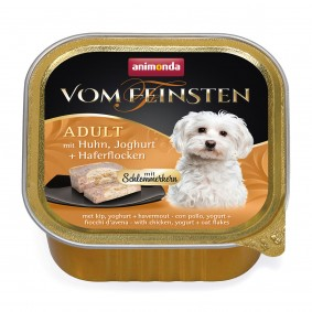Animonda Vom Feinsten Schlemmerkern mit Huhn, Joghurt & Haferflocken