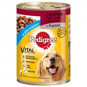 Pedigree Pâtée 5 sortes de viandes pour chiens