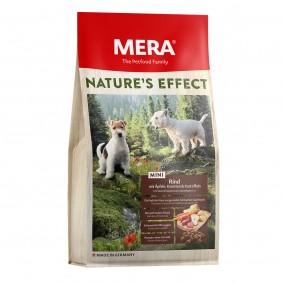 Mera Nature's Effect Trockenfutter MINI Rind