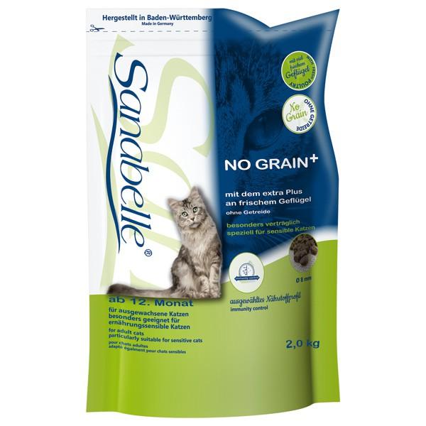 Sanabelle No Grain Katzen-Trockenfutter - 2kg