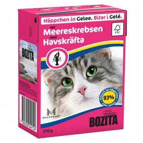 Bozita Katzenfutter Häppchen in Gelee 32x370g verschiedene Sorten