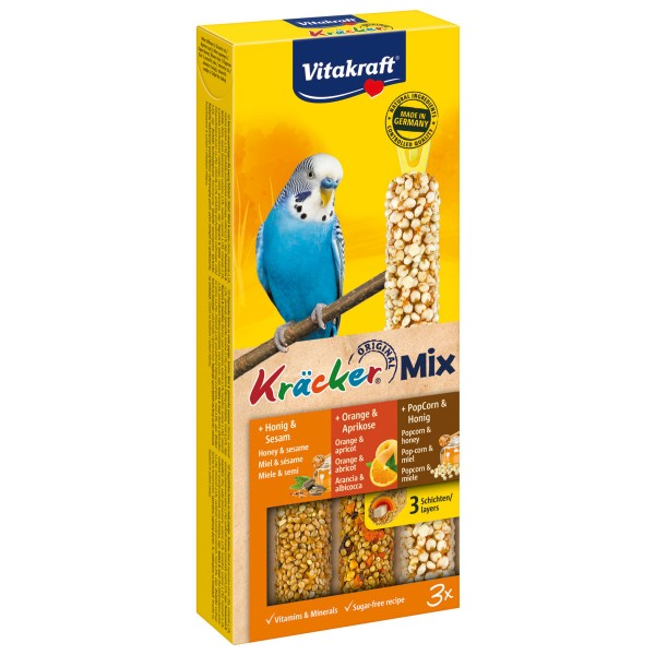 Vitakraft Kräcker Trio Honig Orange PopCorn