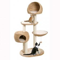karlie flamingo banana leaf 3 de luxe kratzbaum. Black Bedroom Furniture Sets. Home Design Ideas