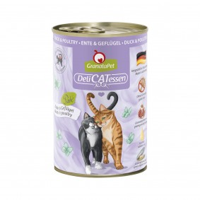 GranataPet Katze - Delicatessen Dose Ente & Geflügel