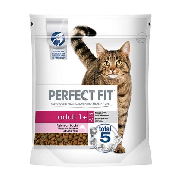 Perfect Fit Katzenfutter Adult 1+ reich an Lachs