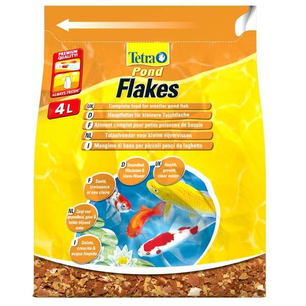 Tetra Pond Teichfutter Flakes
