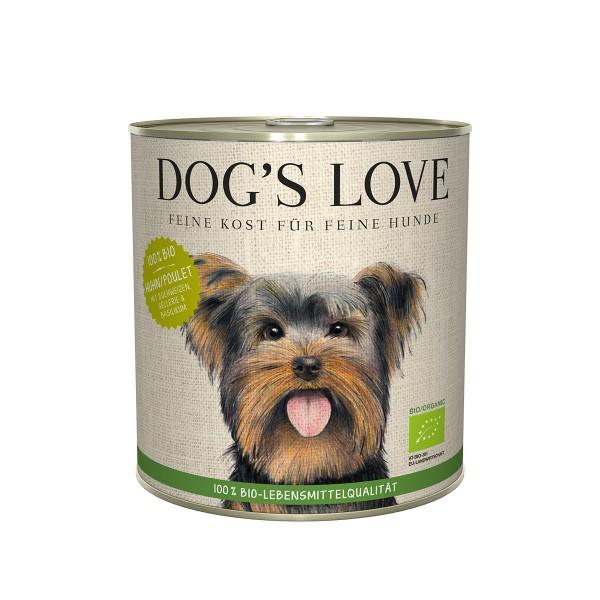 Dog's Love Bio Huhn mit Buchweizen, Sellerie und Basilikum