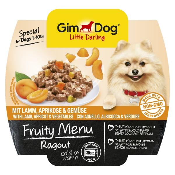 GimDog Fruity Menu Ragout mit Lamm Aprikosen & ...