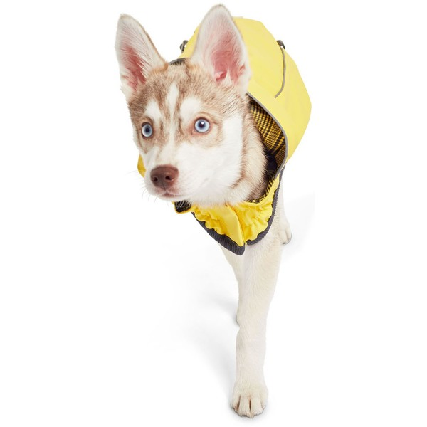 GF Pet Elastofit Regenmantel gelb