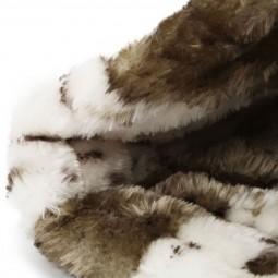 Trixie Kuschelbett LEIKA in der Farbe beige/schwarz