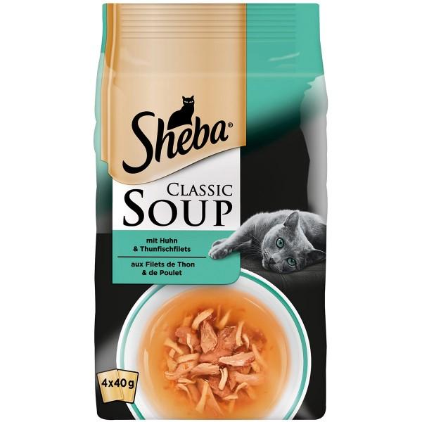 Sheba Soup Huhn & Thunfischfilet