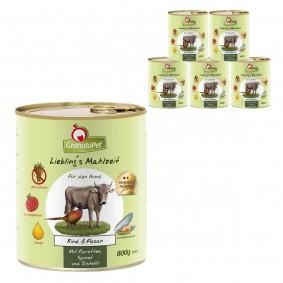 GranataPet Lieblingsmahlzeit Rind&Fasan