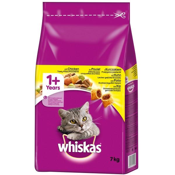 Whiskas Adult 1+ mit Huhn - 7kg
