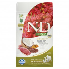 N&D Dog Quinoa Skin & Coat Duck