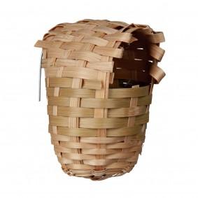 Nid exotique en bambou