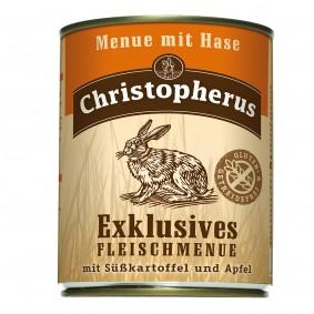 Christopherus Exklusives Fleischmenü Hase