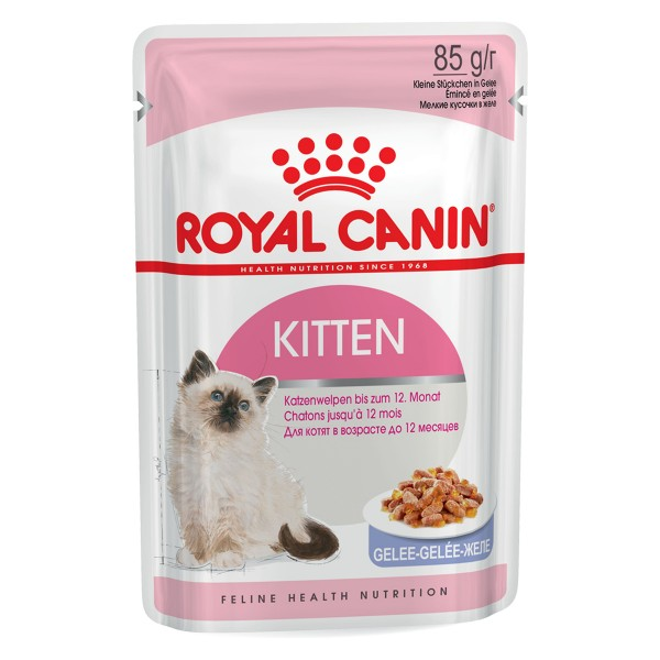 Royal Canin Katzenfutter Kitten Instinctive in Gelee 12 x 85g