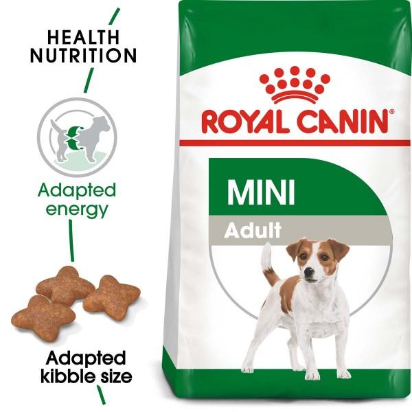 ROYAL CANIN MINI Adult Trockenfutter für kleine Hunde 2kg
