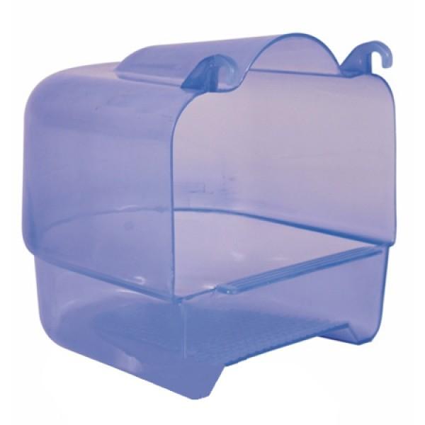 Trixie Badehaus halbrund 15×16×17cm blau-durchscheinend