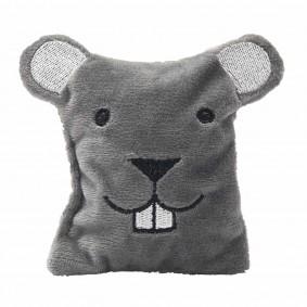 Aumüller Katzenspielkissen Maus Jerry mit Dinkelspelz und Baldrian