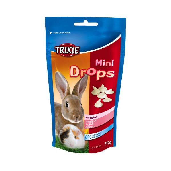 Trixie Mini Drops Kleintiersnack - Joghurt