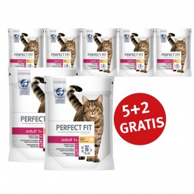 Perfect Fit 5+2 Gratis Adult 1+ reich an Huhn 190g