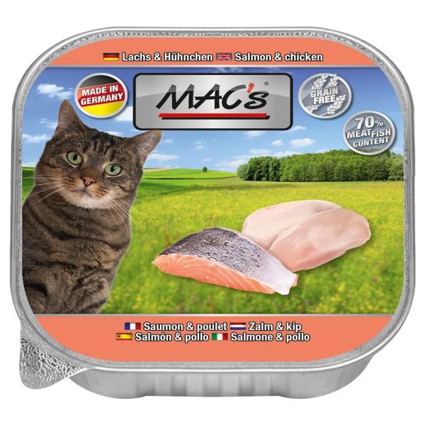 Macs Cat Lachs & Hühnchen - 85g