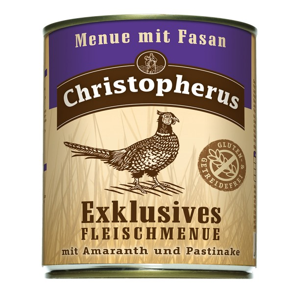 Christopherus Exklusives Fleischmenü Fasan