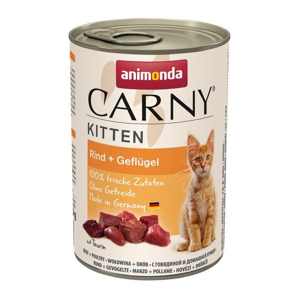 Animonda Carny Kitten Rind + Geflügel