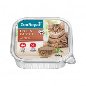 ZooRoyal Enten-Pastete auf Aspik