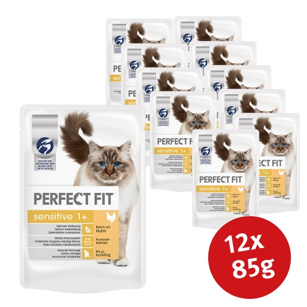 Perfect Fit Sensitive Huhn in Sauce 12x85g