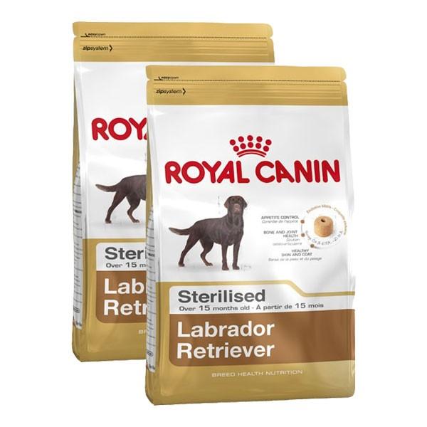 Royal Canin Hundefutter Labrador Retriever Sterilised 2x12kg