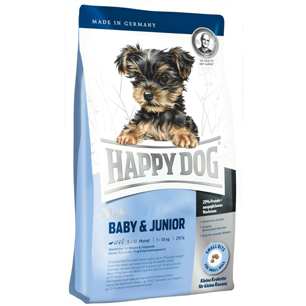 Happy Dog Supreme Mini Baby & Junior - 4kg