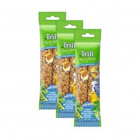 Trill Honig Sticks mit Spinat, Sellerie und Petersilie 3x70g