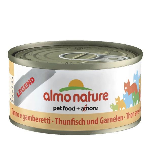 Almo Nature Katzenfutter 70g - Thunfisch & Garn...