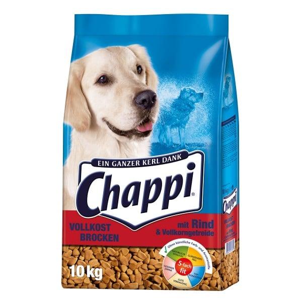 Chappi Vollkost Brocken Rind+Gemüse+Getreide 10kg