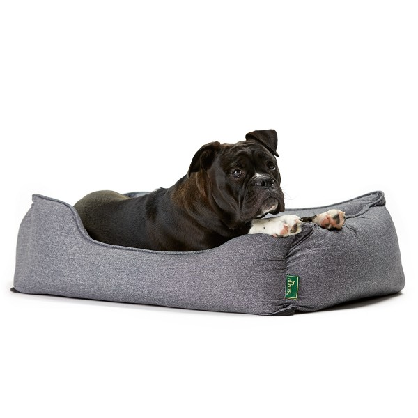 Hunter Hundesofa Boston grau S