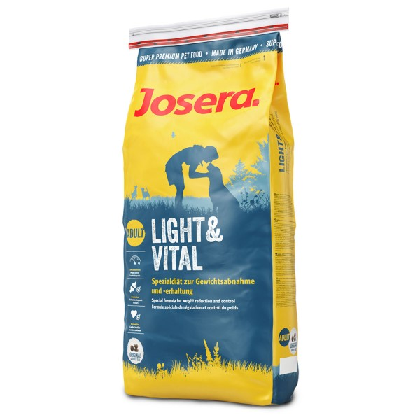 Josera Hunde Trockenfutter Light und Vital
