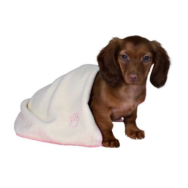 Trixie Welpen-Set - Decke, Spielzeug & Handtuch rosa