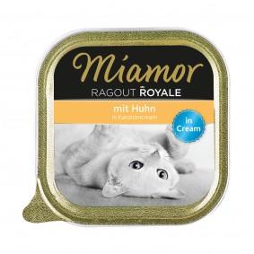 Miamor Ragout Royale Huhn in Karottencream 100g Alu-Schale