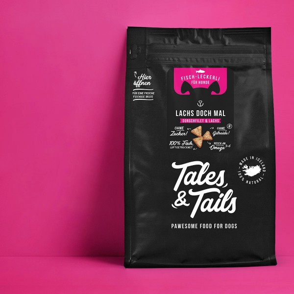 Tales & Tails Icebarks Lachs doch mal